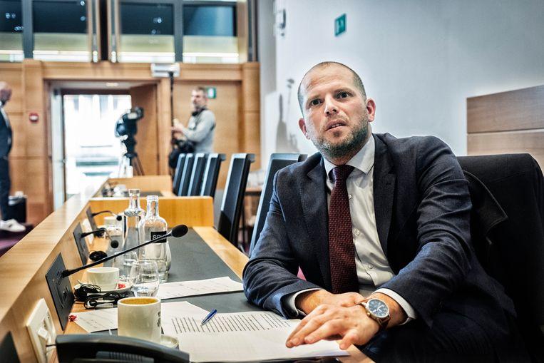 Voormalig staatssecretaris voor Asiel en Migratie Theo Francken (N-VA). Beeld Tim Dirven