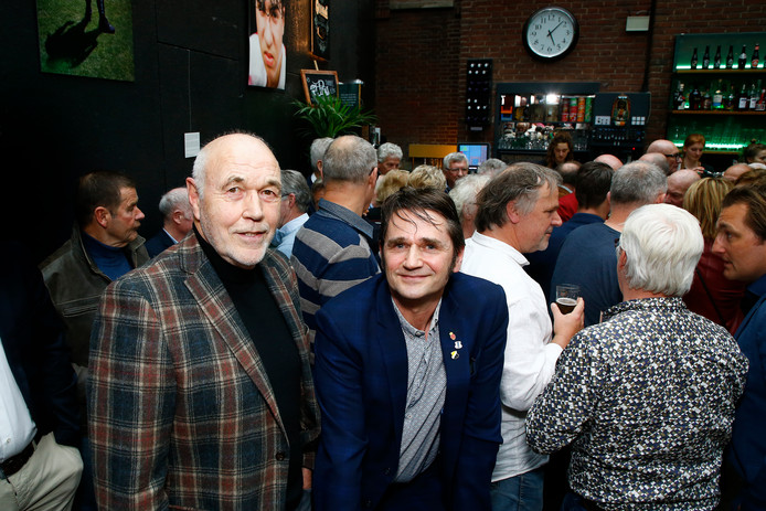 Utrecht-coryfee Leo van Veen en Robbert Bleys