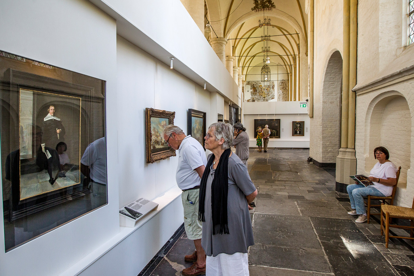 Een expositie van geroofde kunst uit de Tweede Wereldoorlog in Deventer.