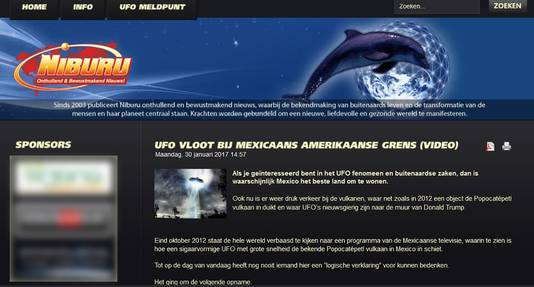 Voorbeeld van een Nederlandse site met nepnieuws