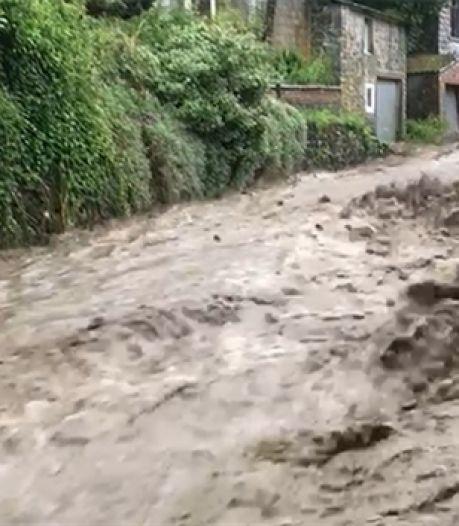 """La commune d'Anhée touchée par les fortes pluies: """"C'est une catastrophe"""""""
