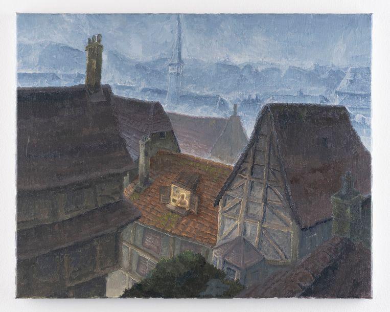 Felix de Clercq, 'A New Hometown' (2020), Gallery Sofie Van de Velde. Beeld GalleryViewer