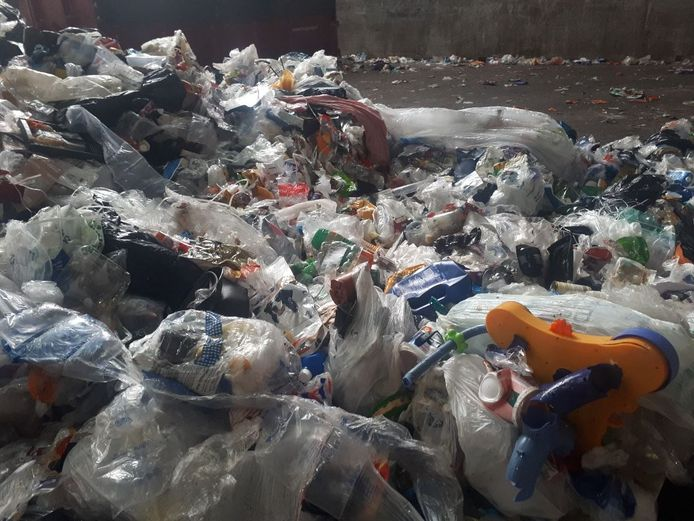 Plastic afval. Foto ter illustratie.