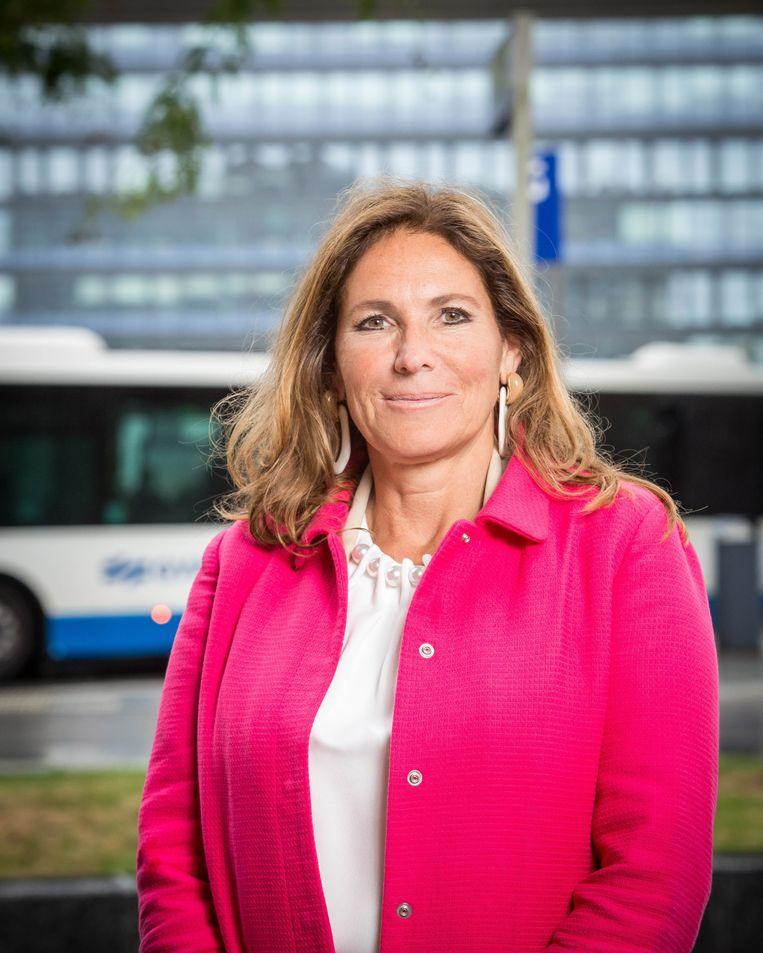 Claudia Zuiderwijk. Beeld GVB