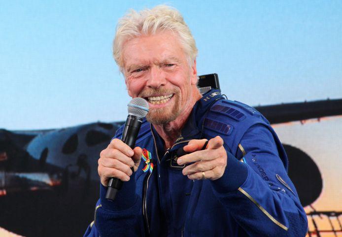 Sir Richard Branson zou bij een beursgang de controle over de luchtvaartmaatschappij verliezen.