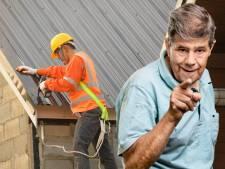 We hebben last van de herrie en muziek van bouwvakkers