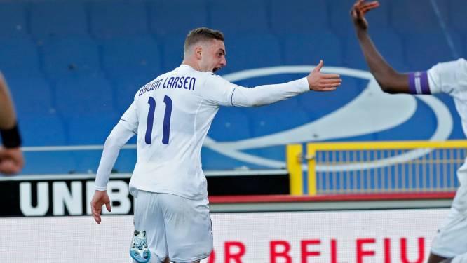 """Plots heeft Anderlecht met Bruun Larsen een extra wapen: """"Deze metamorfose is geen mirakel"""""""