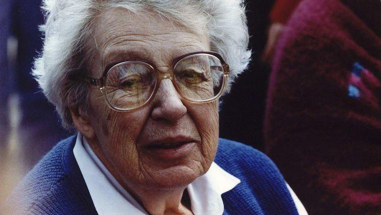 Schrijfster Annie M.G.Schmidt in 1993 Beeld anp