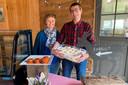 Leen De Clercq en Walter De Rick uit Impe gaan met Evarist Geitenkaas een andere uitdaging naast het onderwijs aan.