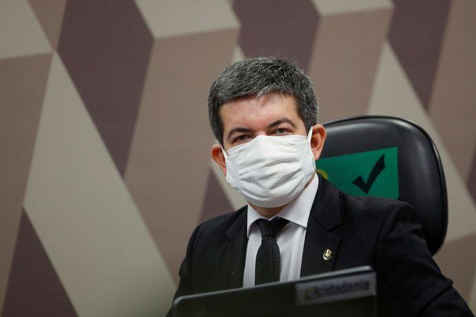 De Braziliaanse senator Randolfe Rodrigues.