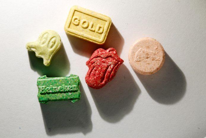 Xtc-tabletten in alle vormen en kleuren.