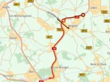 Verkeer rond Veghel vrijdagochtend vast door afsluiting op A50 richting Eindhoven