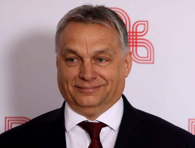 De Hongaarse premier Viktor Orban. Beeld REUTERS