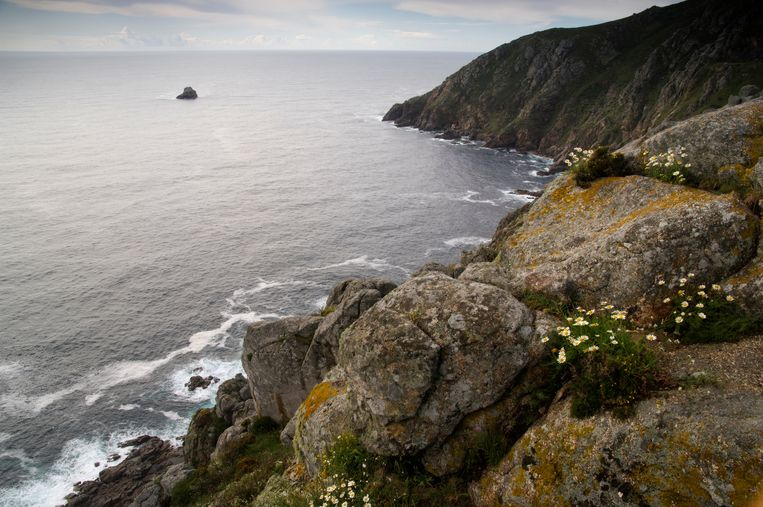 Kaap Finisterre in Spanje. Beeld Getty