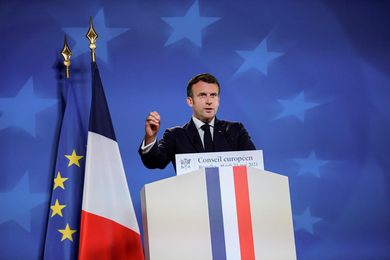 De Franse president Emmanuel Macron introduceerde de Pass Culture. Beeld REUTERS