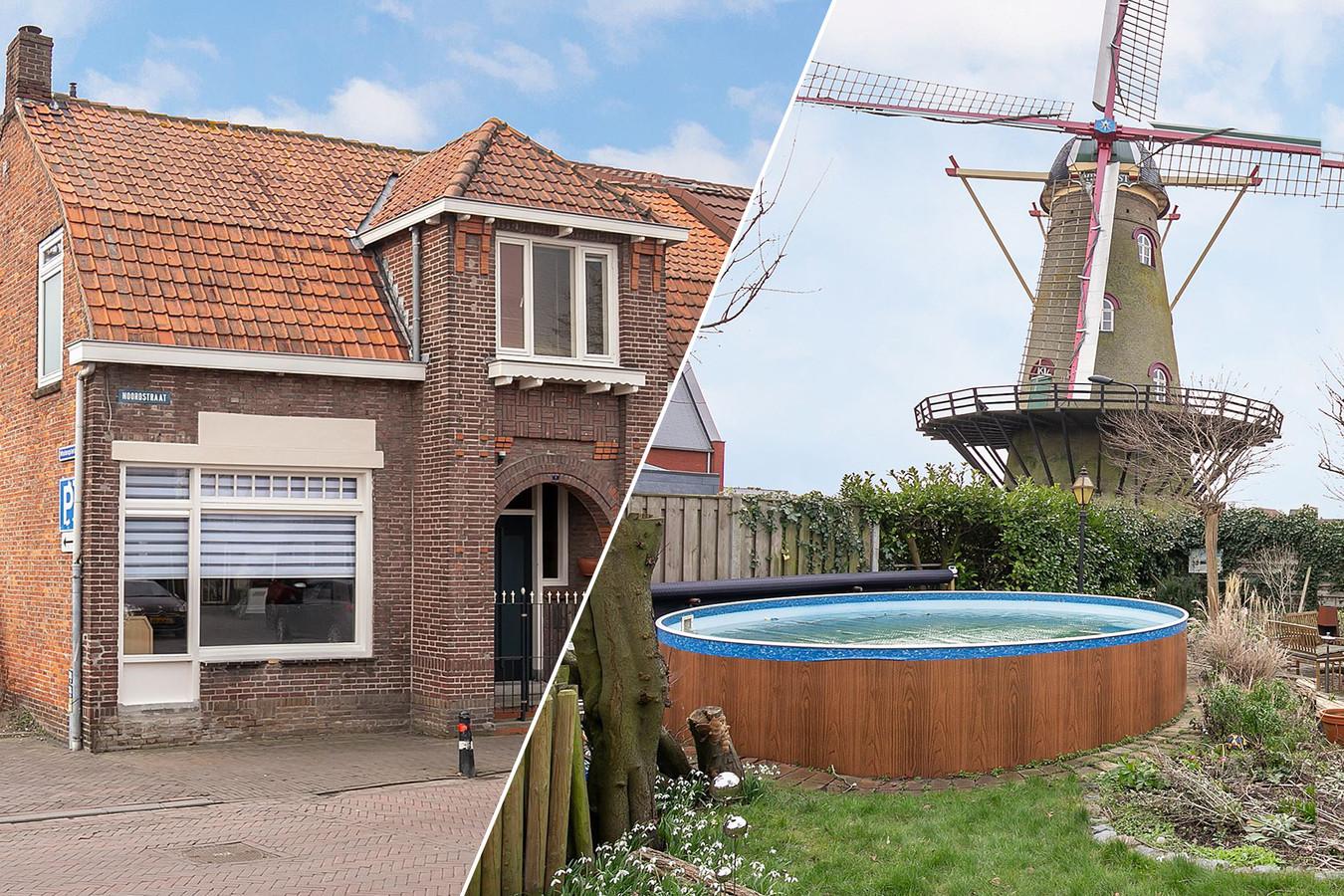 Huis met zwembad en mooi uitzicht in Hoek.