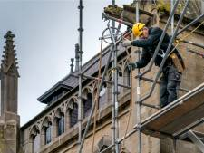 Dat is even wennen: Sint-Janstoren in de steigers tot en met minstens mei 2021