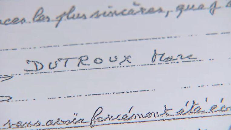 Marc Dutroux is niet de enige crimineel die brieven schrijft. Beeld screenshot vmma