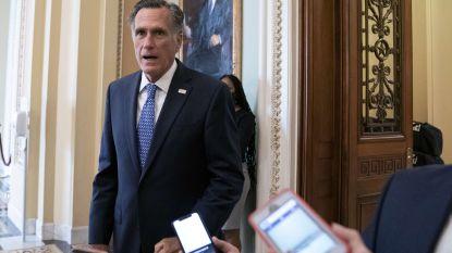 Ook Mitt Romney steunt snelle nominatie nieuwe rechter Hooggerechtshof, meerderheid in Senaat bereikt