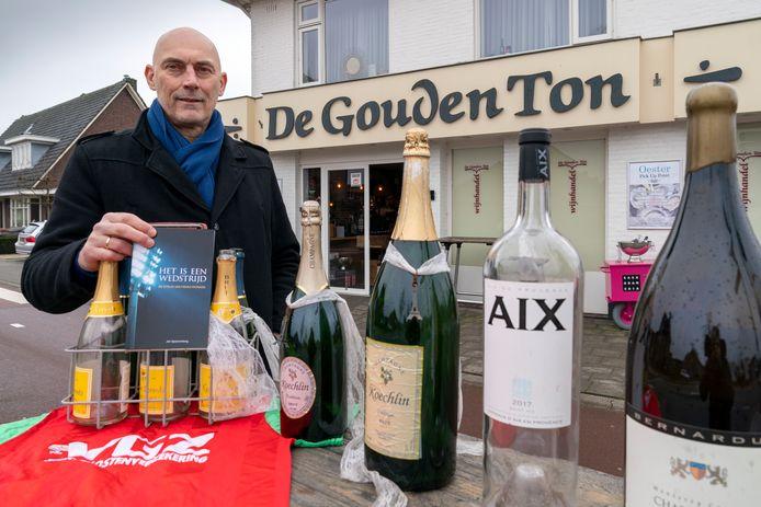 Frans Paymans groeide op in Vught, boven de slijterij van zijn ouders. De Gouden Ton is inmiddels in handen van broer Johan.