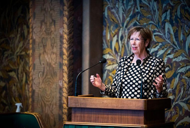 Annemarie Jorritsma (VVD), die tussen 2003 en 2015 burgemeester van Almere was. Beeld Freek van den Bergh / de Volkskrant