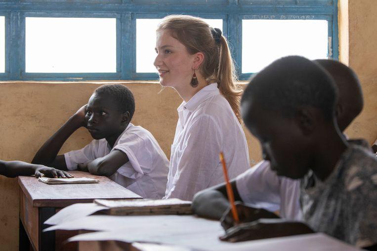 Elisabeth trok naar Kenia voor UNICEF.