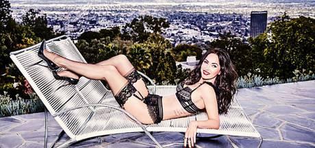 Megan Fox gestrikt voor sexy lingeriecampagne Hollywood