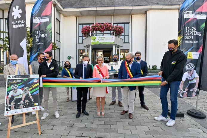 Een jaar geleden was er op het Gemeenteplein in Keerbergen nog een officieel moment omdat het WK de gemeente aandoet.