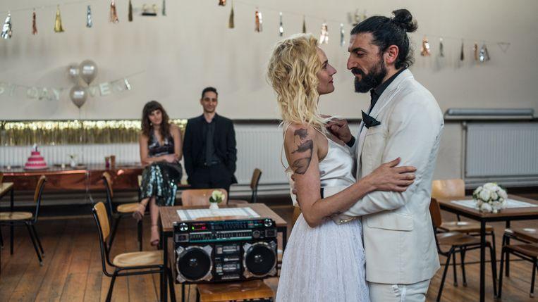 Katja (Diane Kruger) en Nuri (Numan Acar) in 'Aus Dem Nichts' Beeld RV