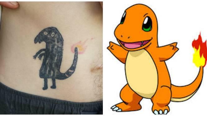Nog maar eens bewezen: tatoeages en alcohol gaan niet samen