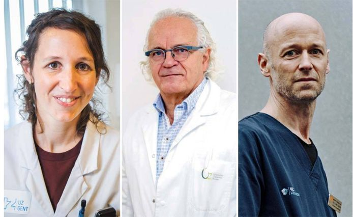 Eva Van Braeckel, Marc Noppen et Geert Meyfroidt
