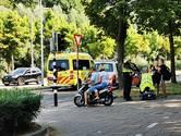 Politie zoekt scooterrijder die doorreed na een botsing met een scootmobiel