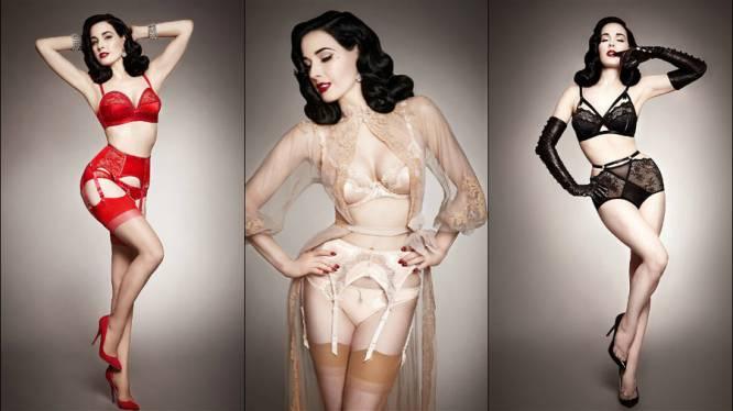Zwoel en sexy: de nieuwe collectie van Dita Von Teese