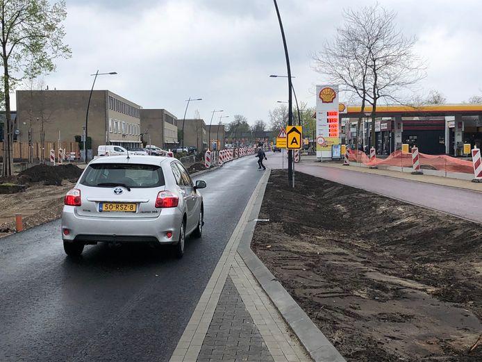 Een van de projecten waar Uden in 2020 mee begon was de reconstructie van het HOV-tracé over de Kornetstraat en Land van Ravensteinstraat.