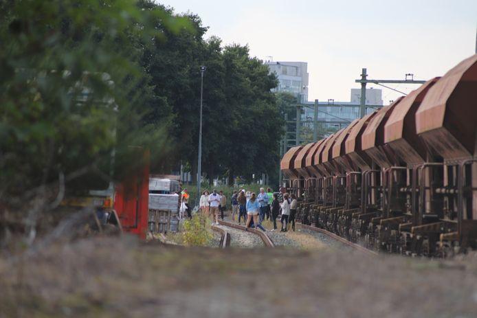 De passagiers verlieten rond vijf uur de bewuste trein