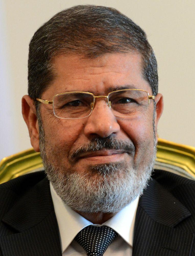 De Egyptische president Mohammed Mursi. Beeld afp