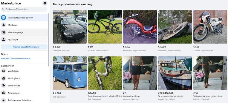 Facebook Marketplace Beeld Facebook