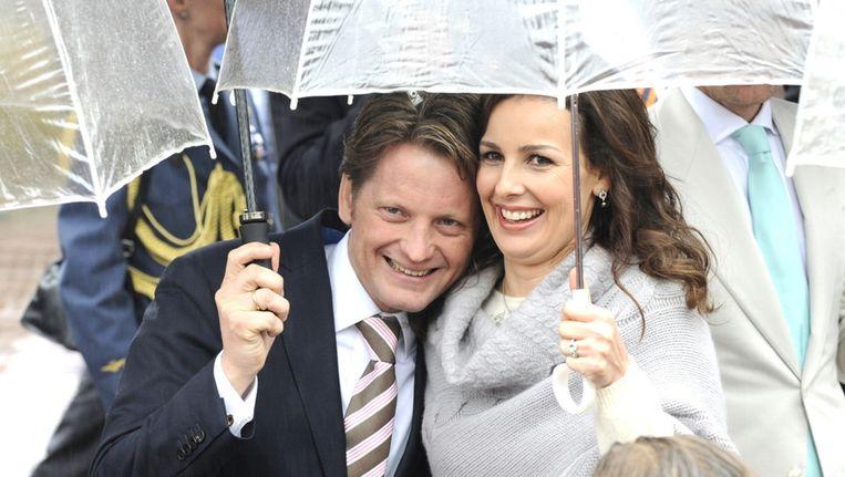 Prinses Anita met man prins Pieter-Christiaan. © BRUNOPRESS Beeld