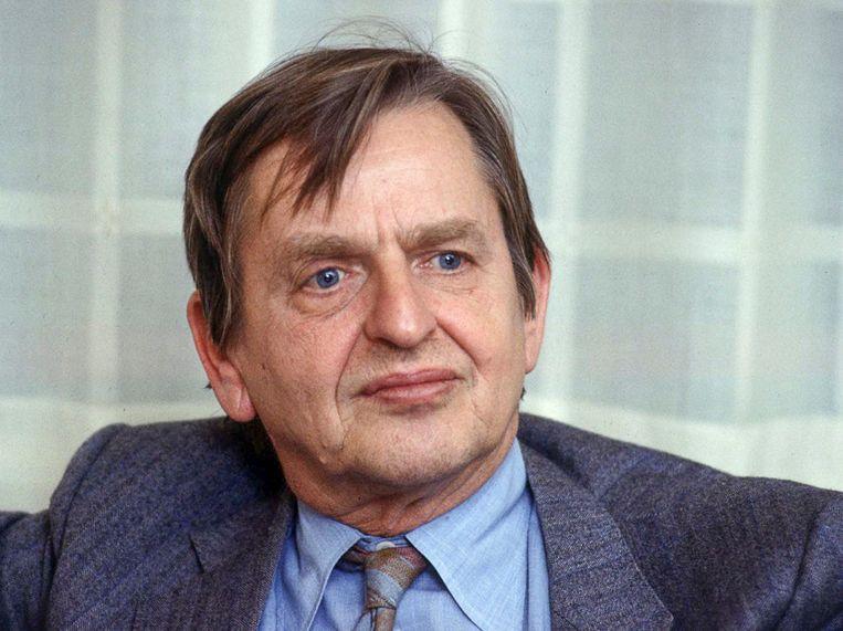 Olof Palme. Beeld EPA