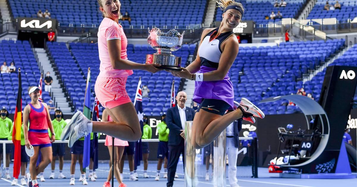 Deuxième titre du Grand Chelem et première place mondiale pour Mertens et Sabalenka - 7sur7