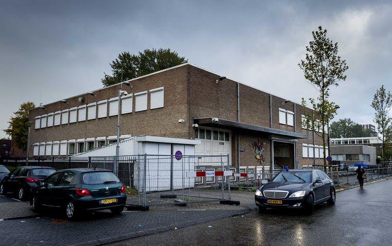 Speciaal beveiligde rechtbank De Bunker in Amsterdam Osdorp. Beeld ANP