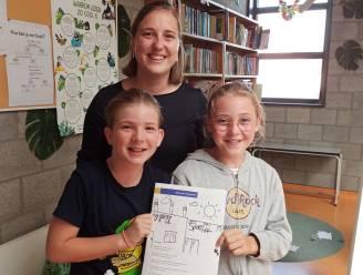 Jinthe en Sterre schrijven winnend gedicht over hun eigen dorp