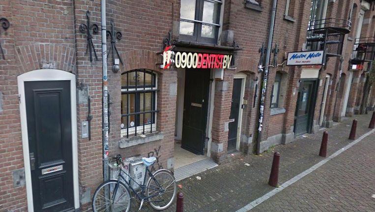 0900Dentist aan de Lijnbaansgracht. Beeld Google Streetview