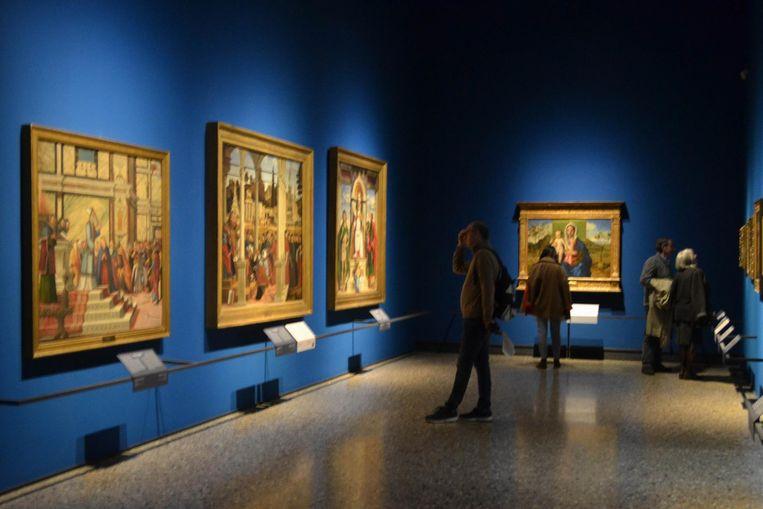 Museum: Pinacoteca di Brera, Milaan. 'Ik kom er om de paar weken.' Beeld HH
