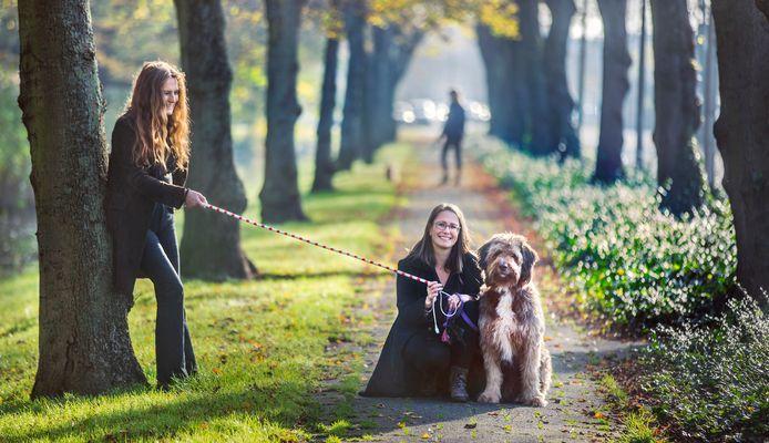 Gedragstherapeut Eefje van Sloten–Bronsveld met hond Joris