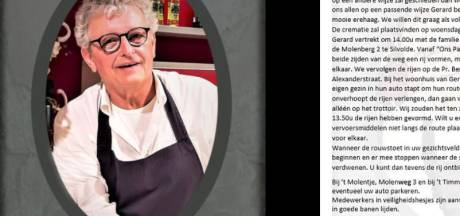 Ons Pakhuus maakt erehaag voor overleden Gerard Kolks