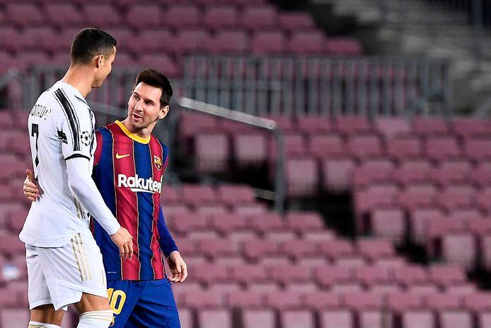 Cristiano Ronaldo en Lionel Messi maken deel uit van het elftal.