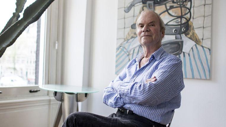 Portret van Bob Vlaken Beeld Rink Hof