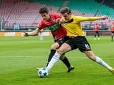 NEC'er Cas Odenthal geschorst na geel in verloren duel met Go Ahead Eagles