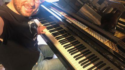 """VIDEO. Geert Faes maakt lied voor singles in corona: """"Wanneer mogen wij nog eens iemand vastpakken?"""""""